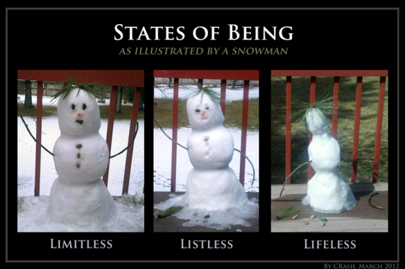Snowman States of Being
