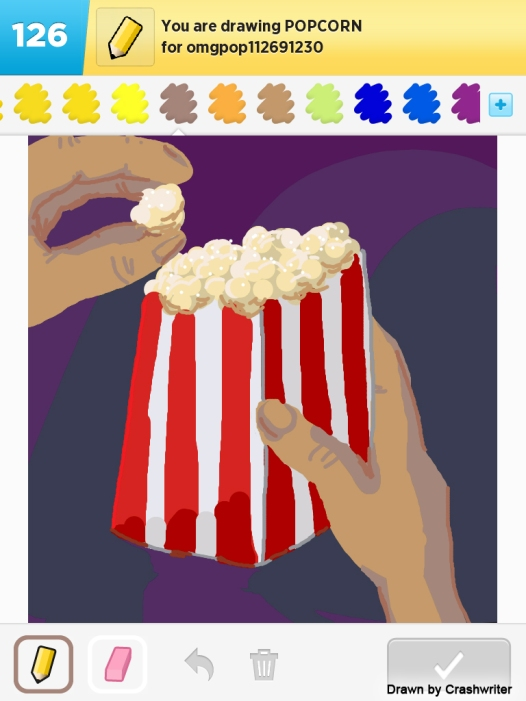 Draw Something Popcorn By CRash