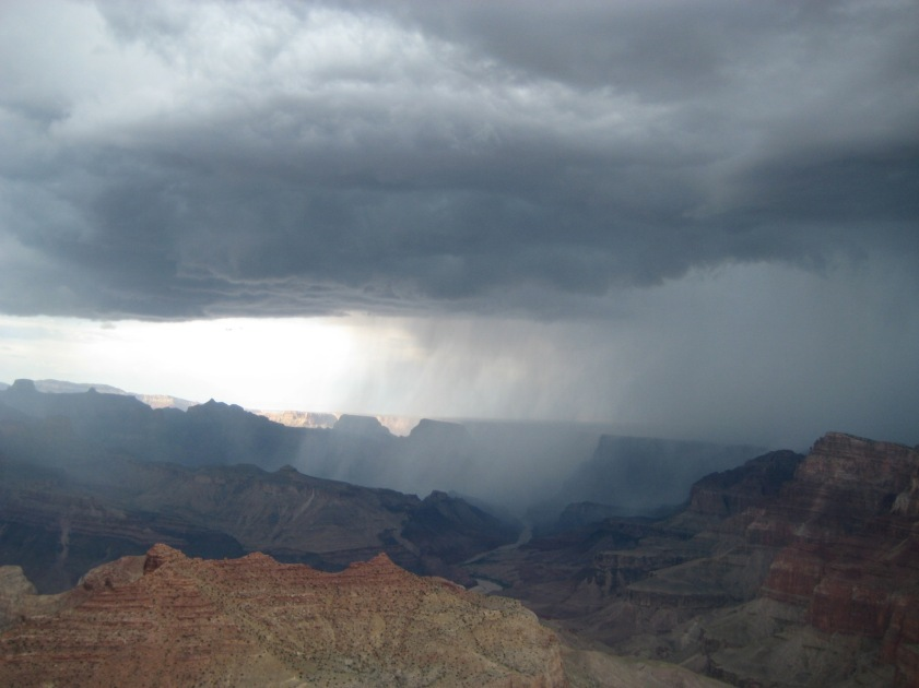 Stormy Grand Canyon By CRash